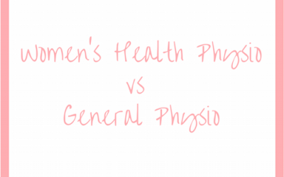 What's the Difference Between Women's Health Physio & General Physio?
